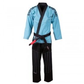 Kimono BJJ -Inverted Collection- Blue Nero