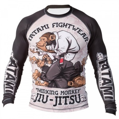 Rashguard BJJ Thinker Monkey