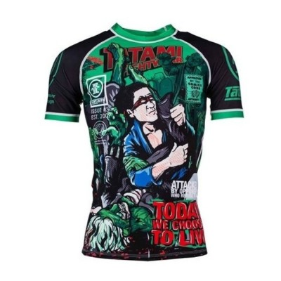 Rashguard BJJ TFW The Zombie Hunter