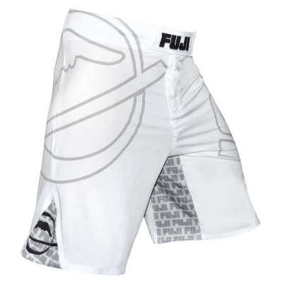 Pantaloncini BJJ FUJI INVERTED BIANCO